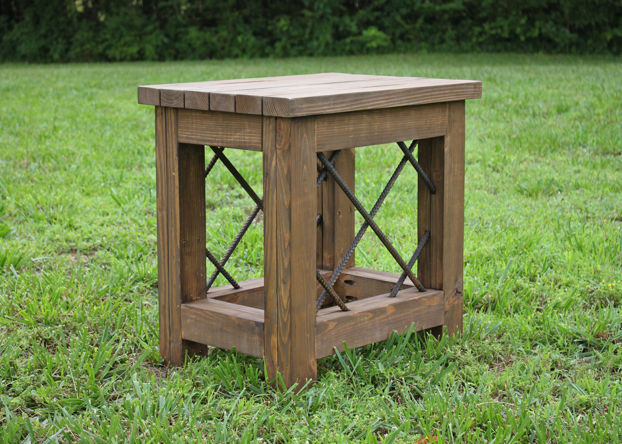 Timber Series Outdoor Utility Table - $385