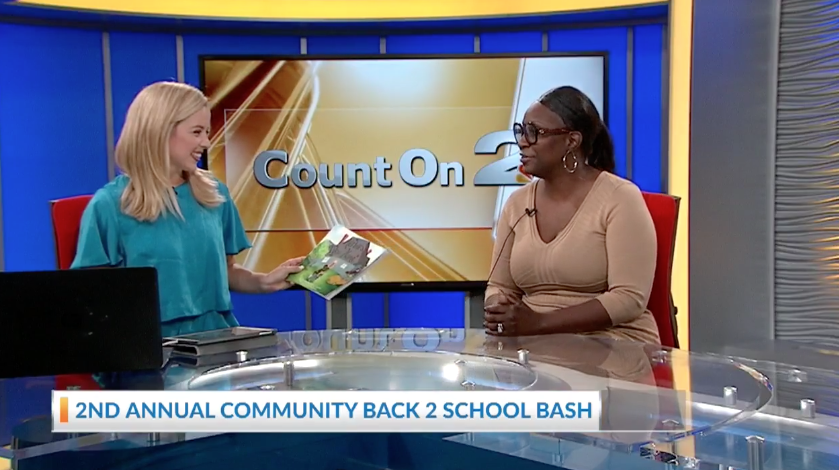 Count on News 2 Sherrikka Myers 2nd Annual Community Back 2 School Bash.png