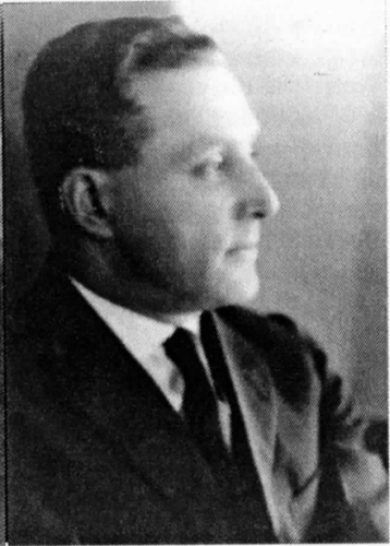 Morris Sacknoff in the 1920's