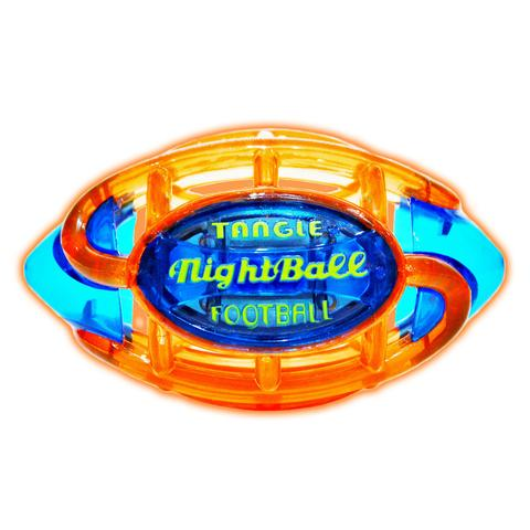 Tangle  NightBall  Football Large (Orange/Blue)
