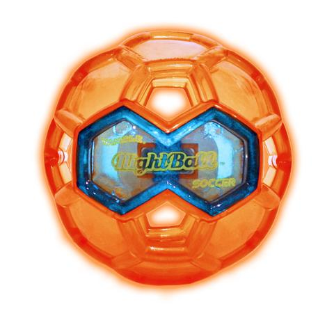 Tangle NightBall Soccer Large (Orange)