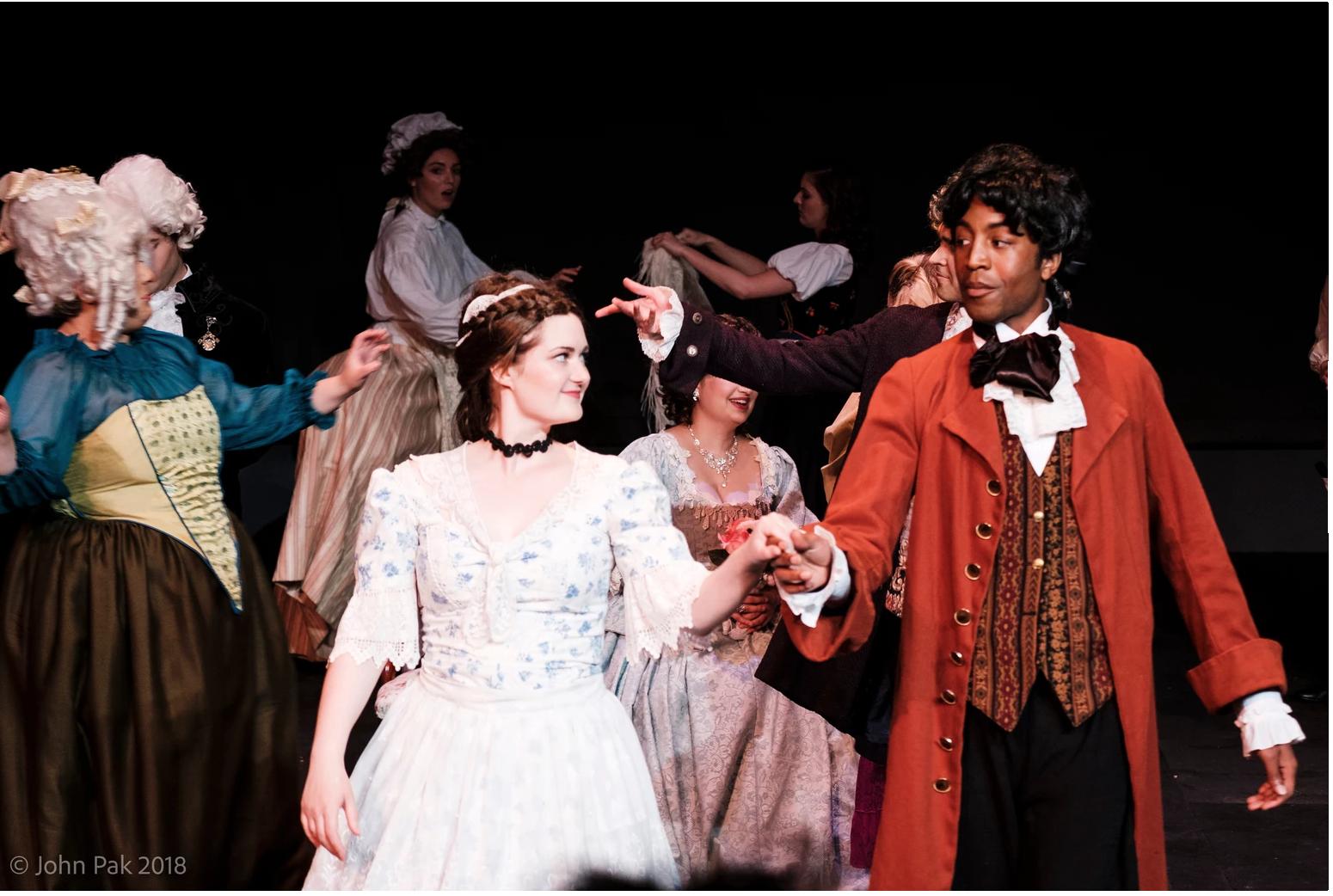 As Susanna in Le nozze di Figaro