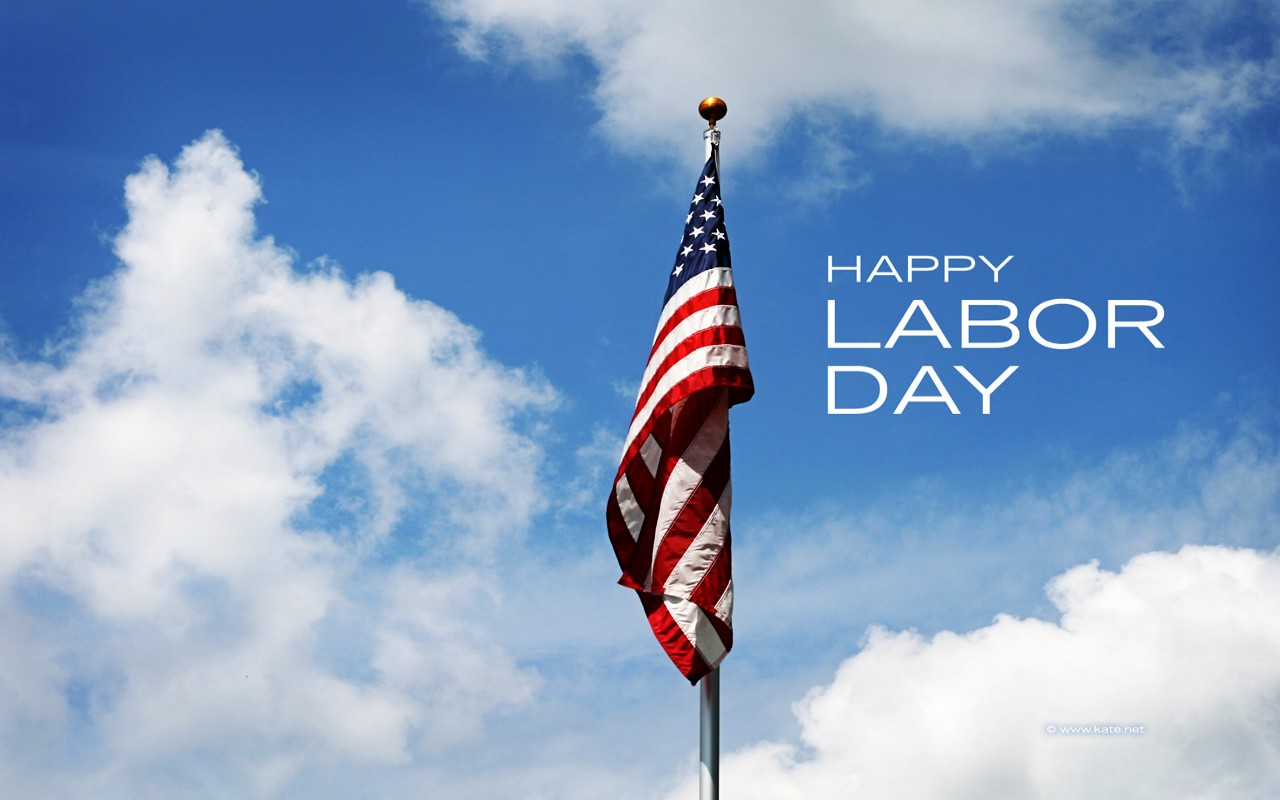 We just wanted to thank all our customers and wish you a Happy Labor Day!