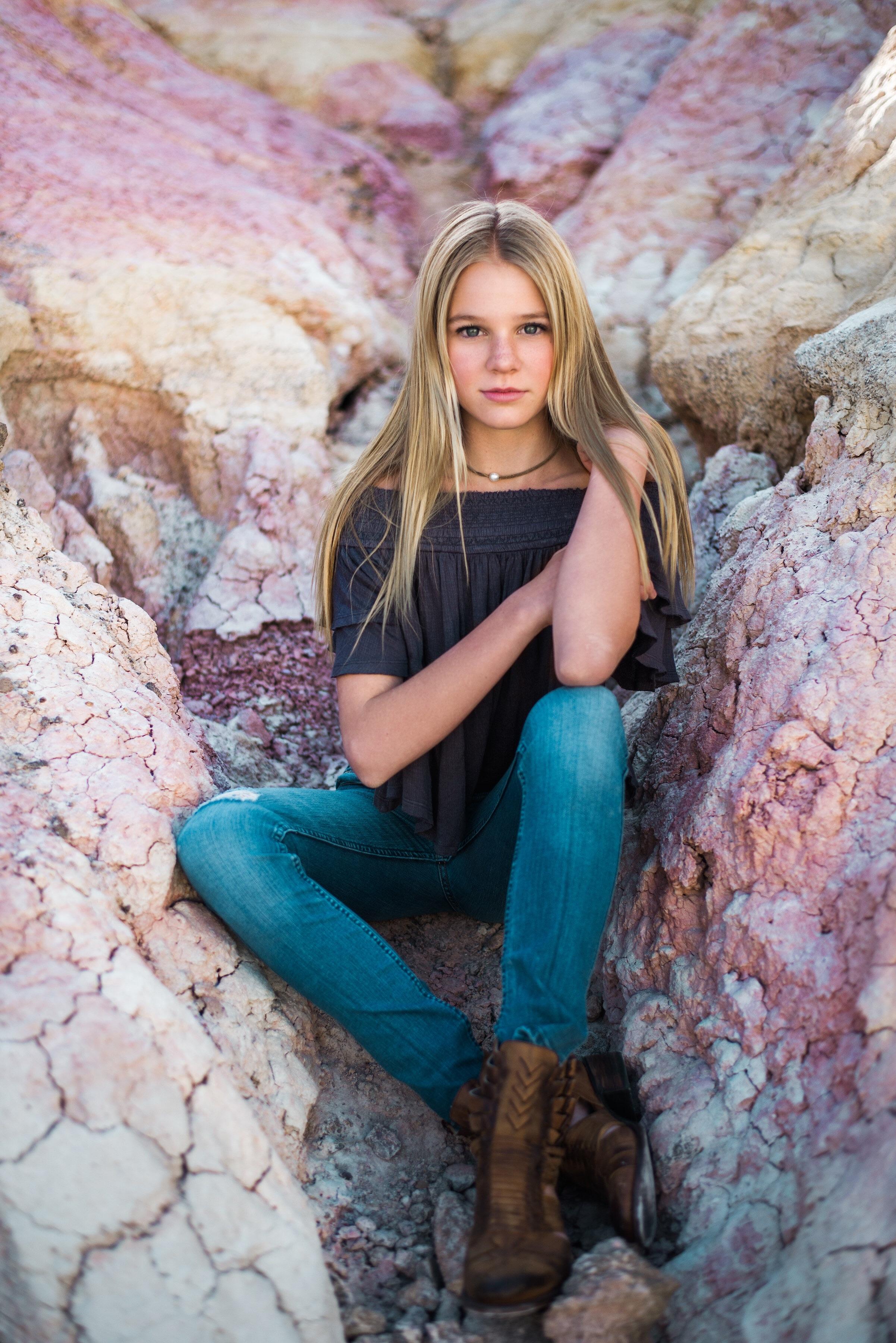 Wilhelmina Denver Teen New Face Portfolio
