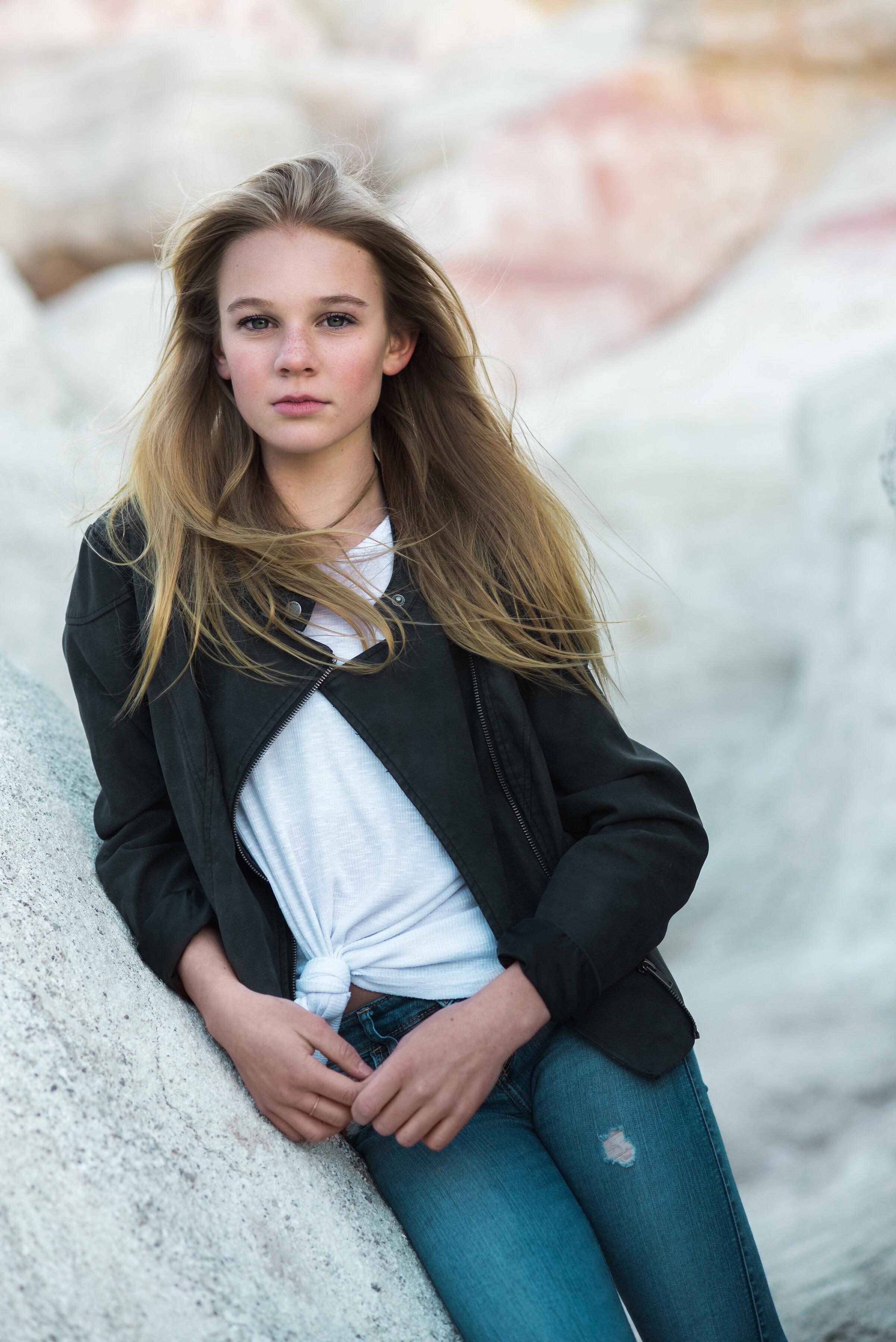 Teen Modeling Headshots Denver