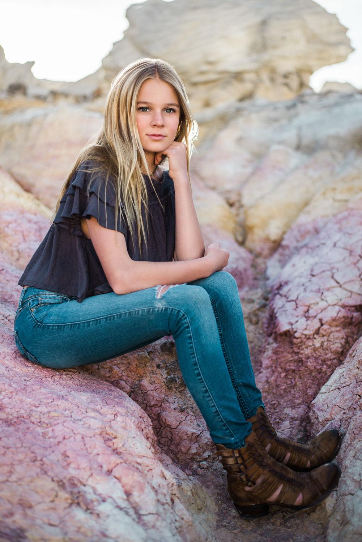 Teen portraits Denver Colorado