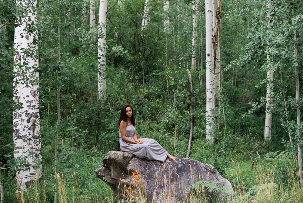 Aspens senior picture photographer
