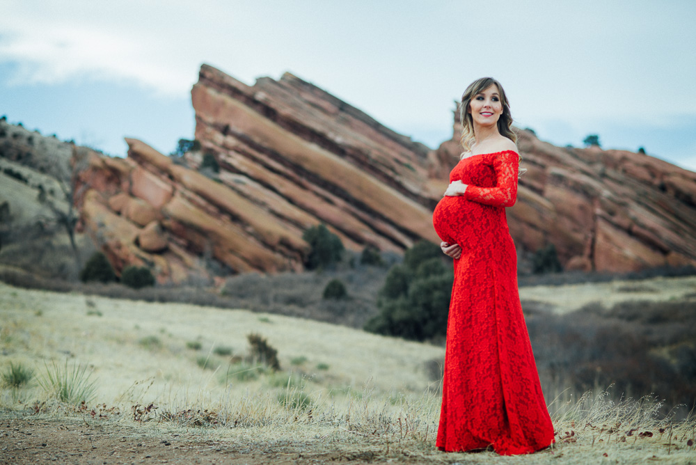 Red Rocks Maternity Session