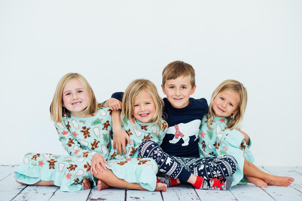 Christmas Set Denver mini sessions pajamas