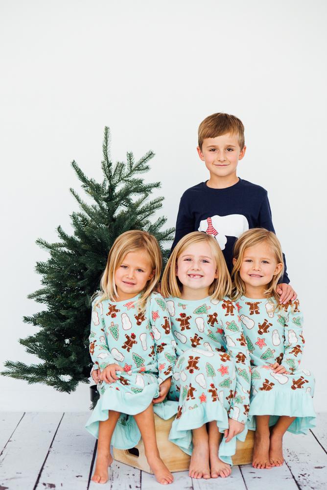 Christmas Tree Mini session Denver Colorado