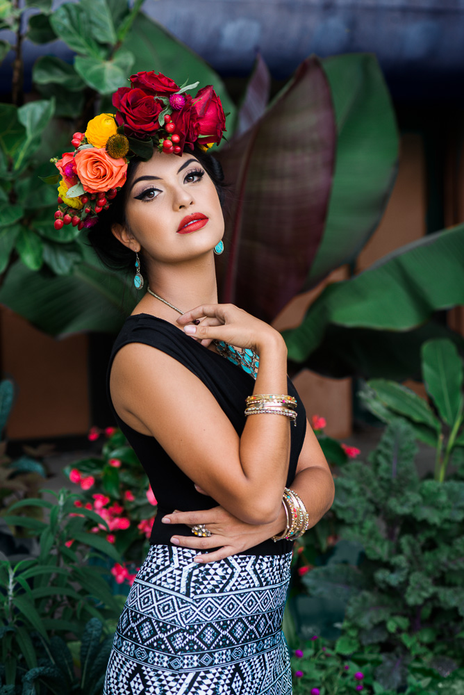 Frida Kahlo Inspired photoshoot in Denver Colorado