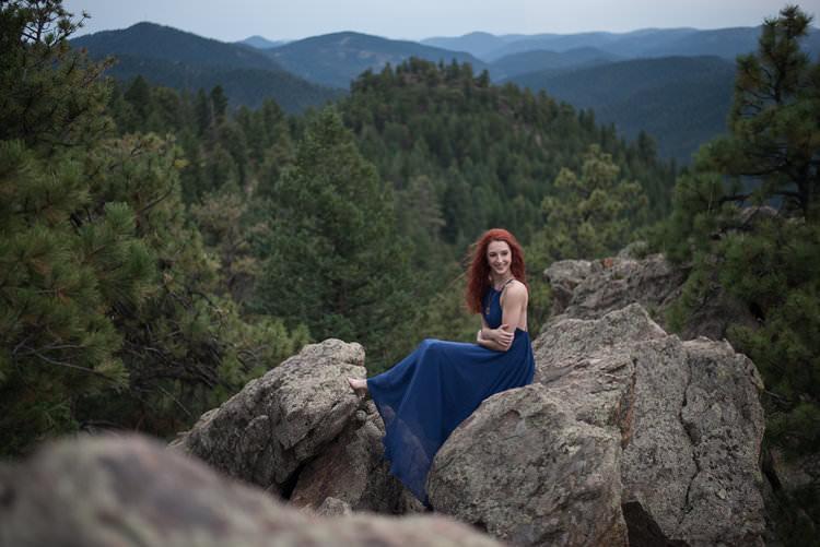 senior portraits in Colorado