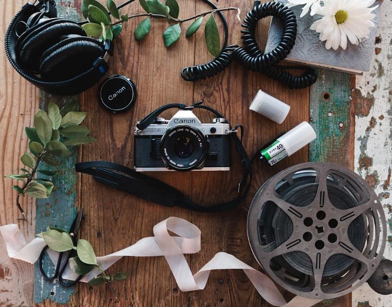 Tripp Films_Branding Photos_Flat Lay Equipment