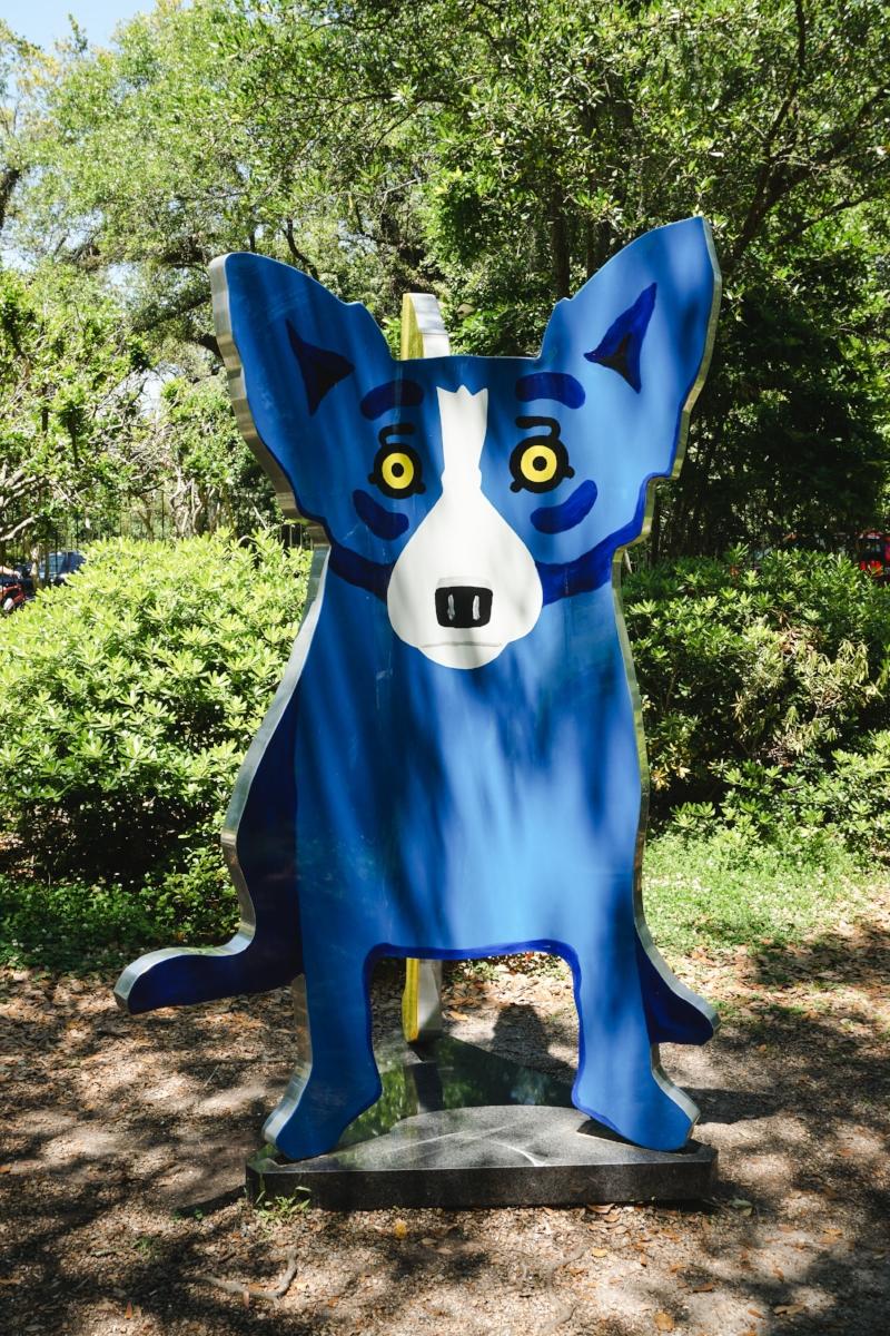 New Orleans_Blue Dog_City Park_Tripp Films