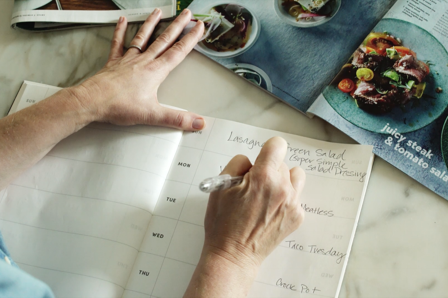 Smart in the Kitchen Meal Planning_Tripp Films Behind the Scenes_Food Blogger