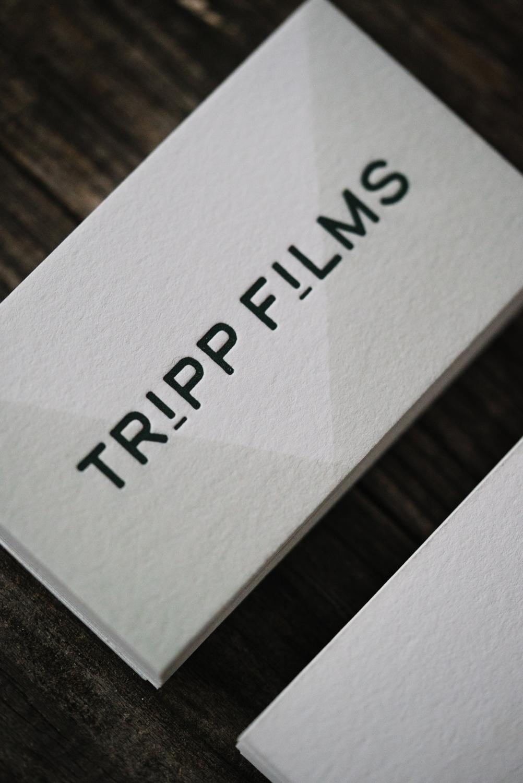 Tripp Films_Business Cards_Design_Branding