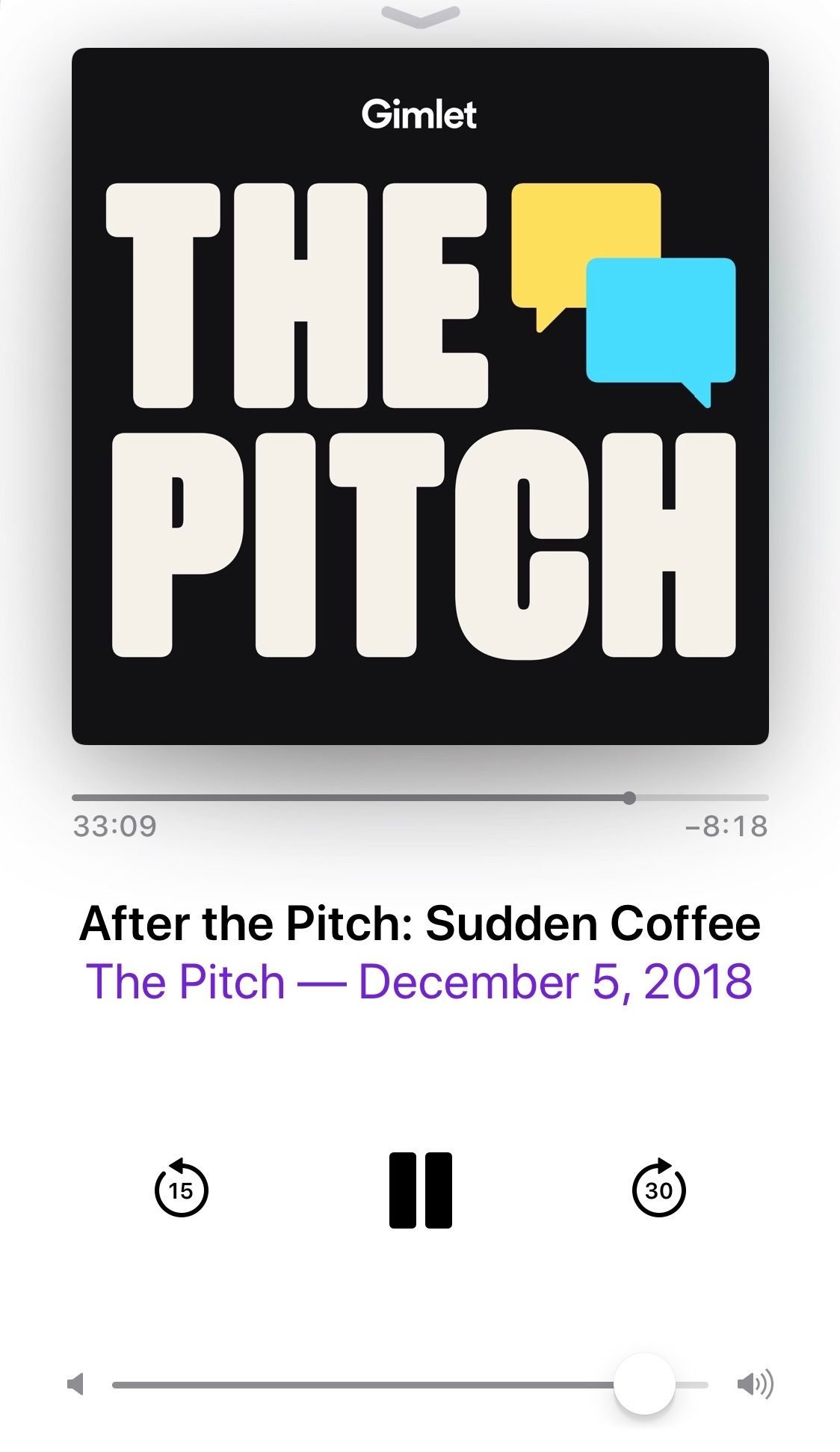 The Pitch_Sudden Coffee_ScreenShot_Podcast