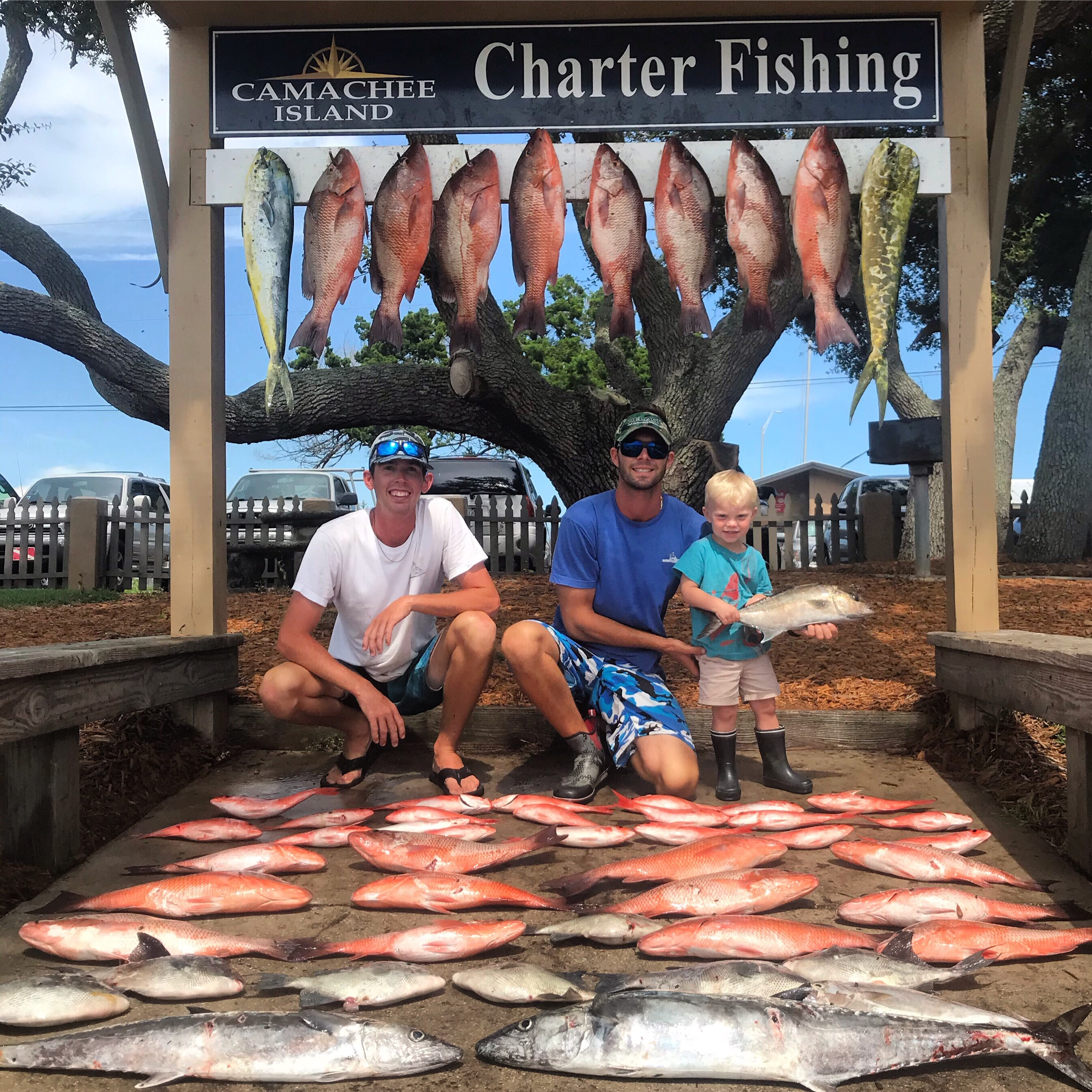 Mangrove Snapper Offshore Fishing on Drop Down Sport Fish Charters in st. Augustine Florida