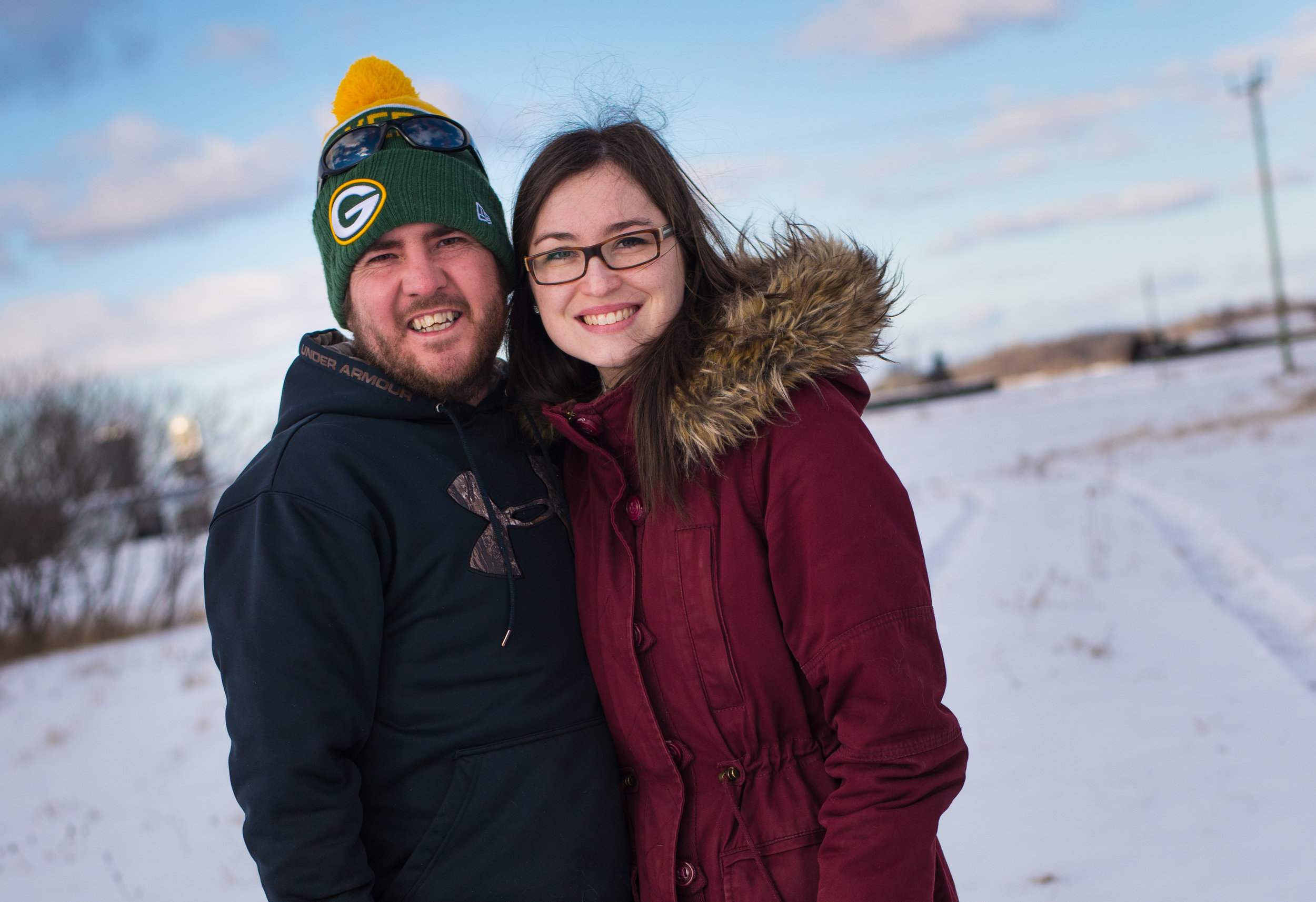 Our names our Marie-Eve and Danny Norris, we both suffer from Cystic Fibrosis. CF is the most fatal genetic disorder in Canada, which affects mainly the lungs and digestive system. The last option for end stage CF is a double lung transplant.