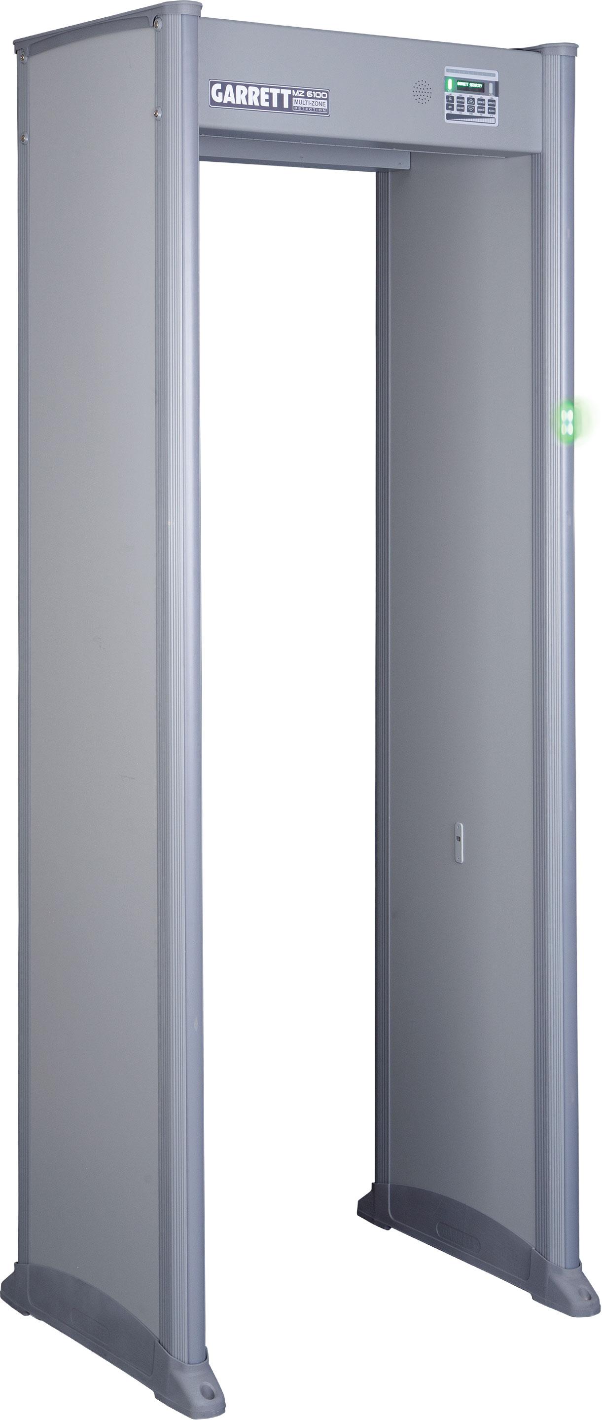 MZ 6100™  Walk-Through Metal Detector