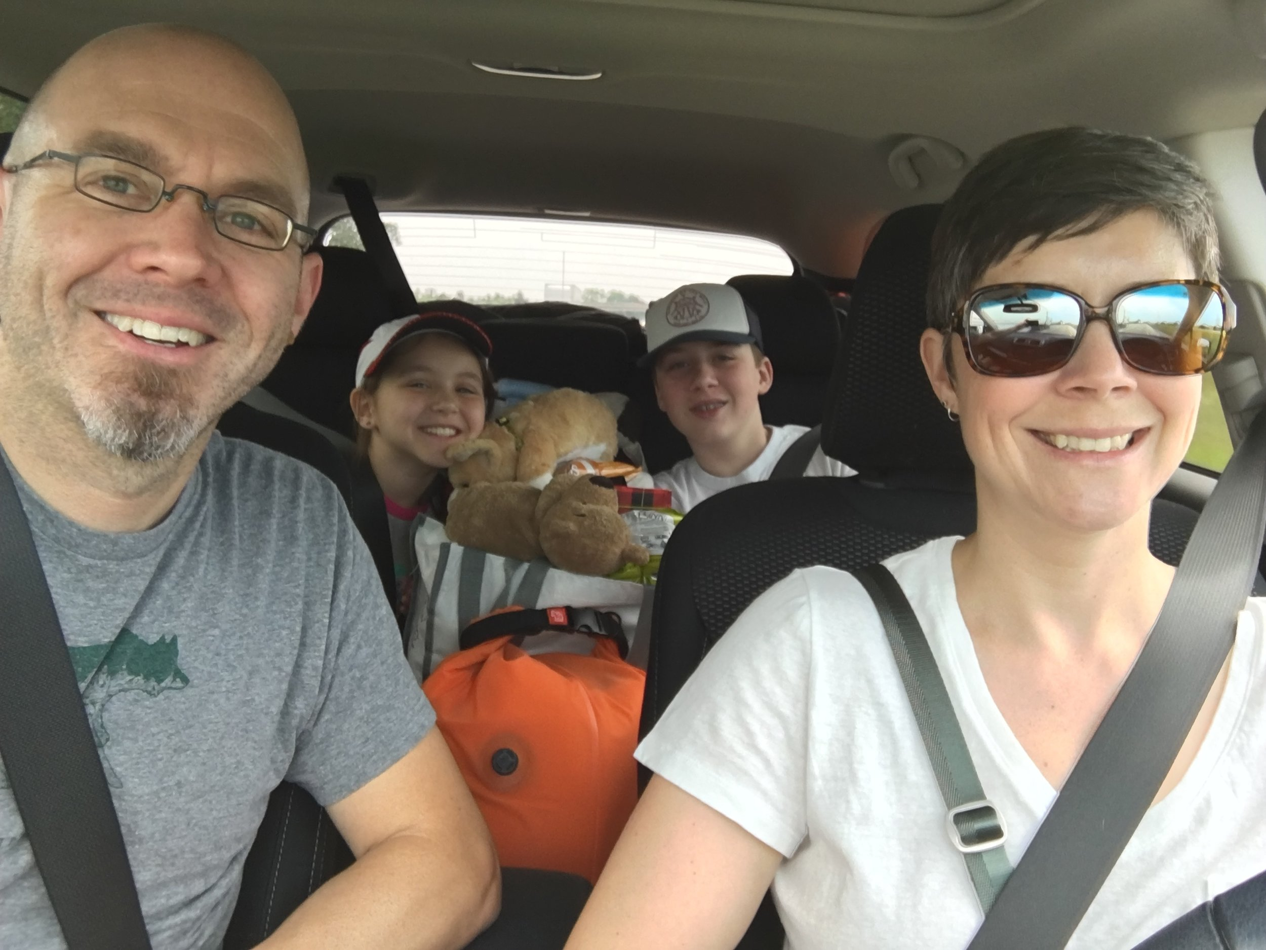 Driving out to Sturgis, SD from Grand Rapids, MI via Madison, WI and Sioux Falls, SD.