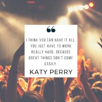 Katy Perry quote | 5 Successful Failures to Inspire You | dianemunoz.com