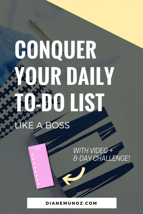 Conquer Your Daily To-Do List Like a Boss