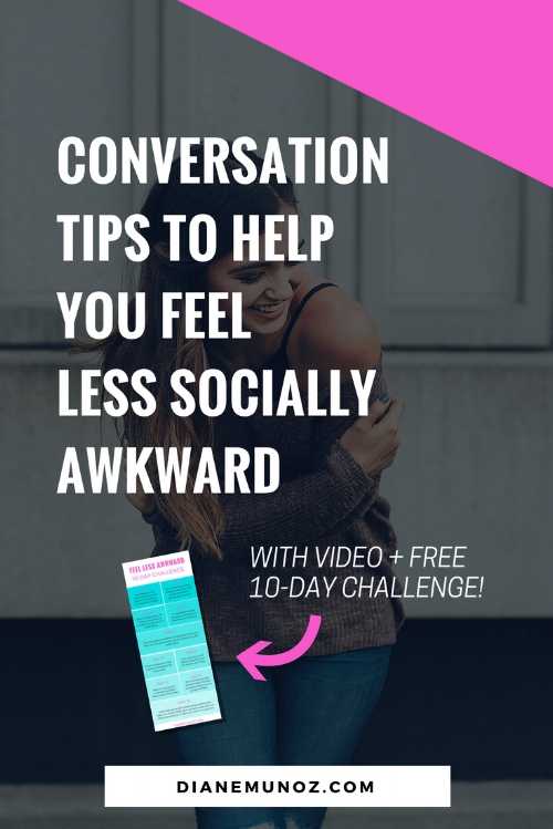Conversation Tips to Help You Feel Less Socially Awkward