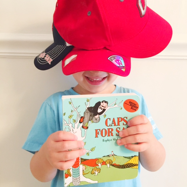 Best Board books and best books for two year olds, Caps for Sale!