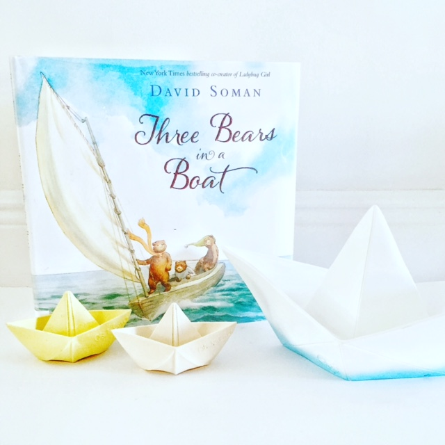 Books that Teach Responsibility, the gorgeous Three Bears in a Boat!