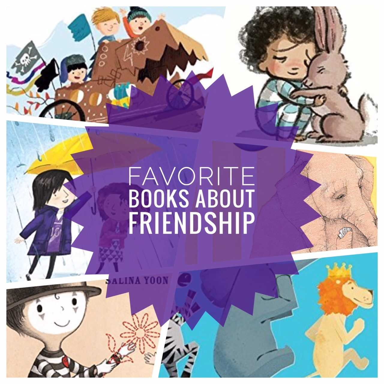 Picture Books About Friendship!