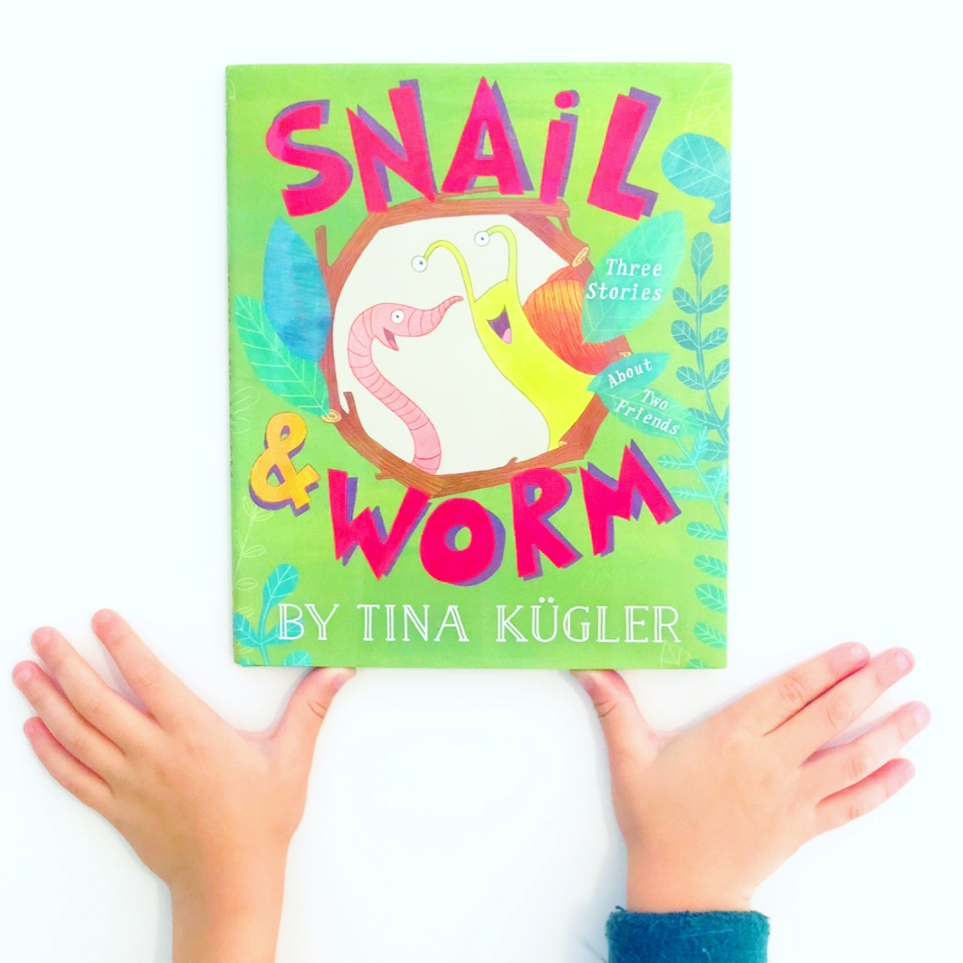 Best Books for Beginning Readers and easy chapter books, Snail and Worm by Tina Kugler