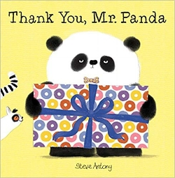 Children's Books About Gratitude, Thank You Mr. Panda