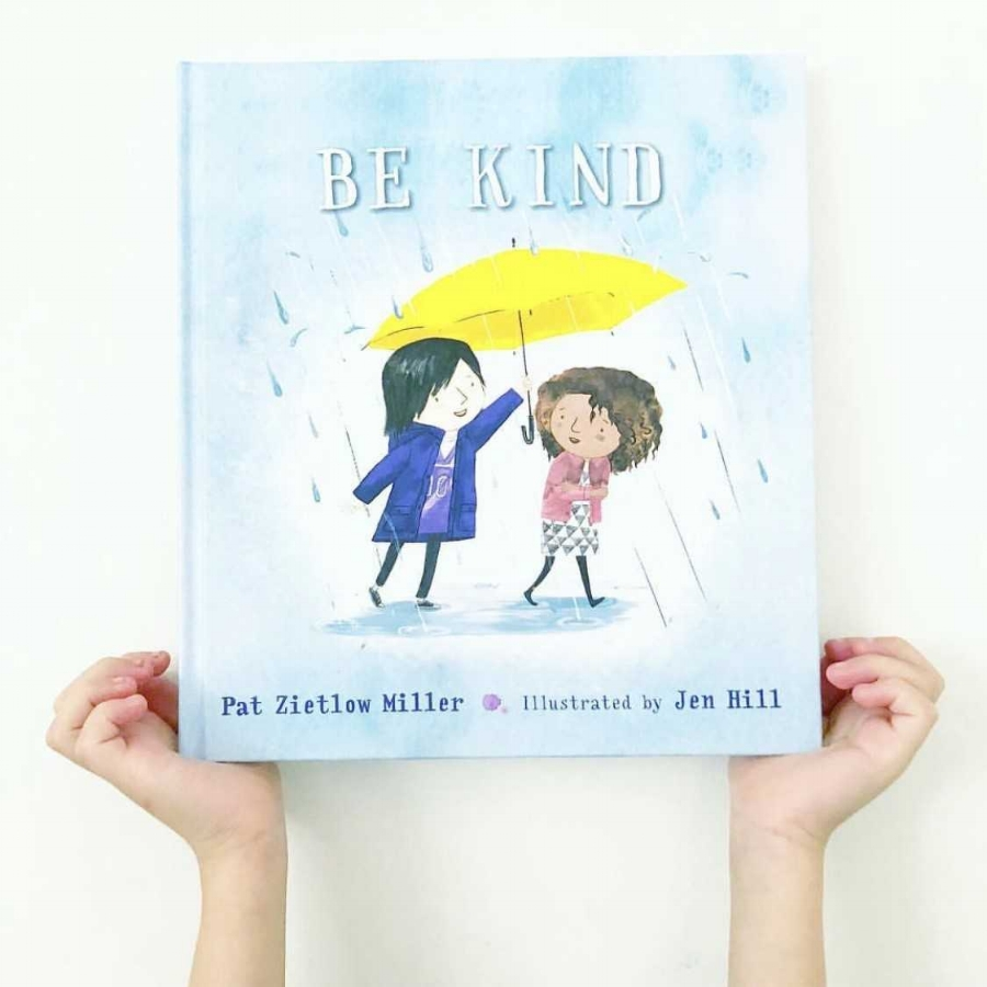 Kids Books About Kindness: Using Kind Words with BE KIND