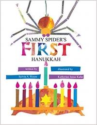 Children's Books About Hanukkah, Sammy Spider's First Hanukkah!