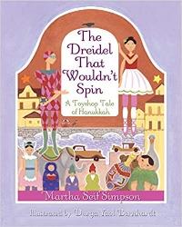Children's Books About Hanukkah, The Dreidel that Wouldn't Spin