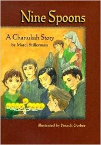 Children's Books About Hanukkah, Nine Spoons