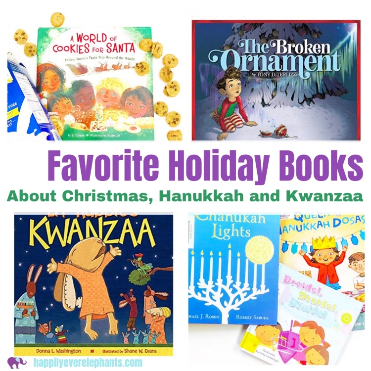 Favorite Picture Books for the Holidays including Christmas Hanukkah and Kwanzaajpg