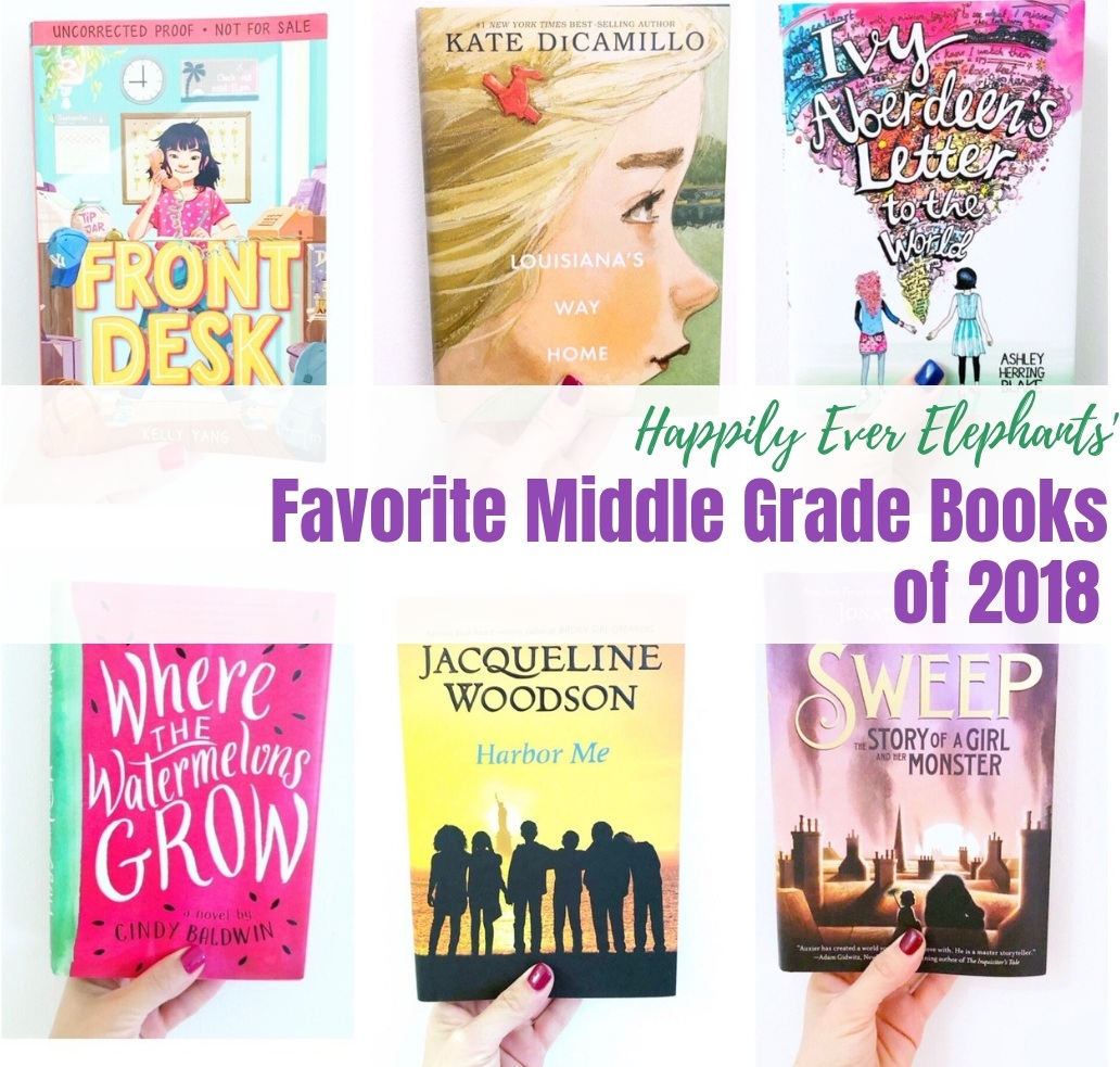 Novels for tweens we loved this year!