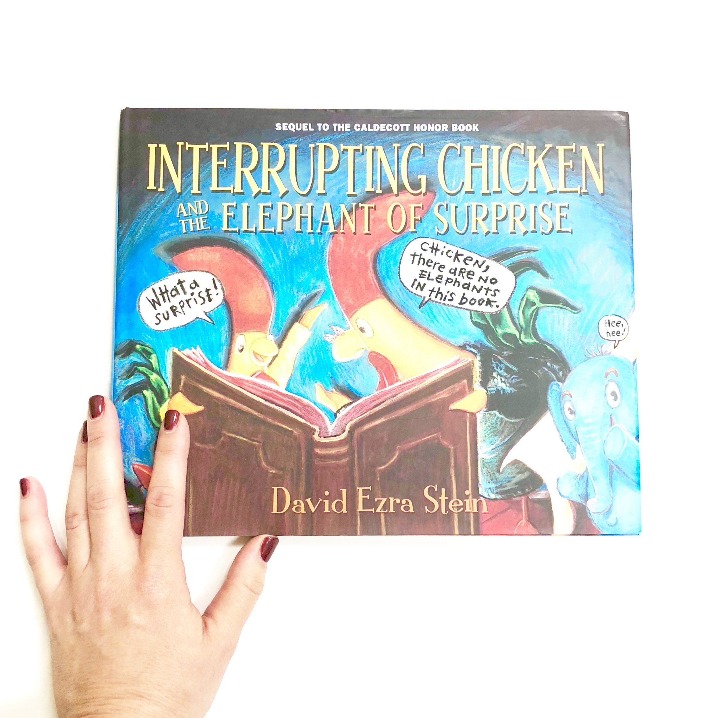 Funny Children's Books with Interrupting Chicken and the Elephant of Surprise