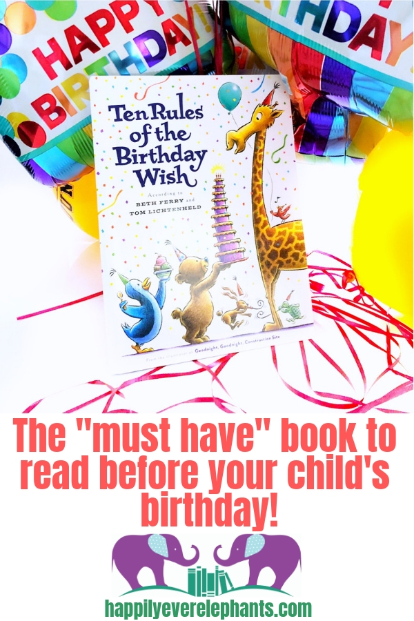 The picture book you want to read leading up to your child's birthday!
