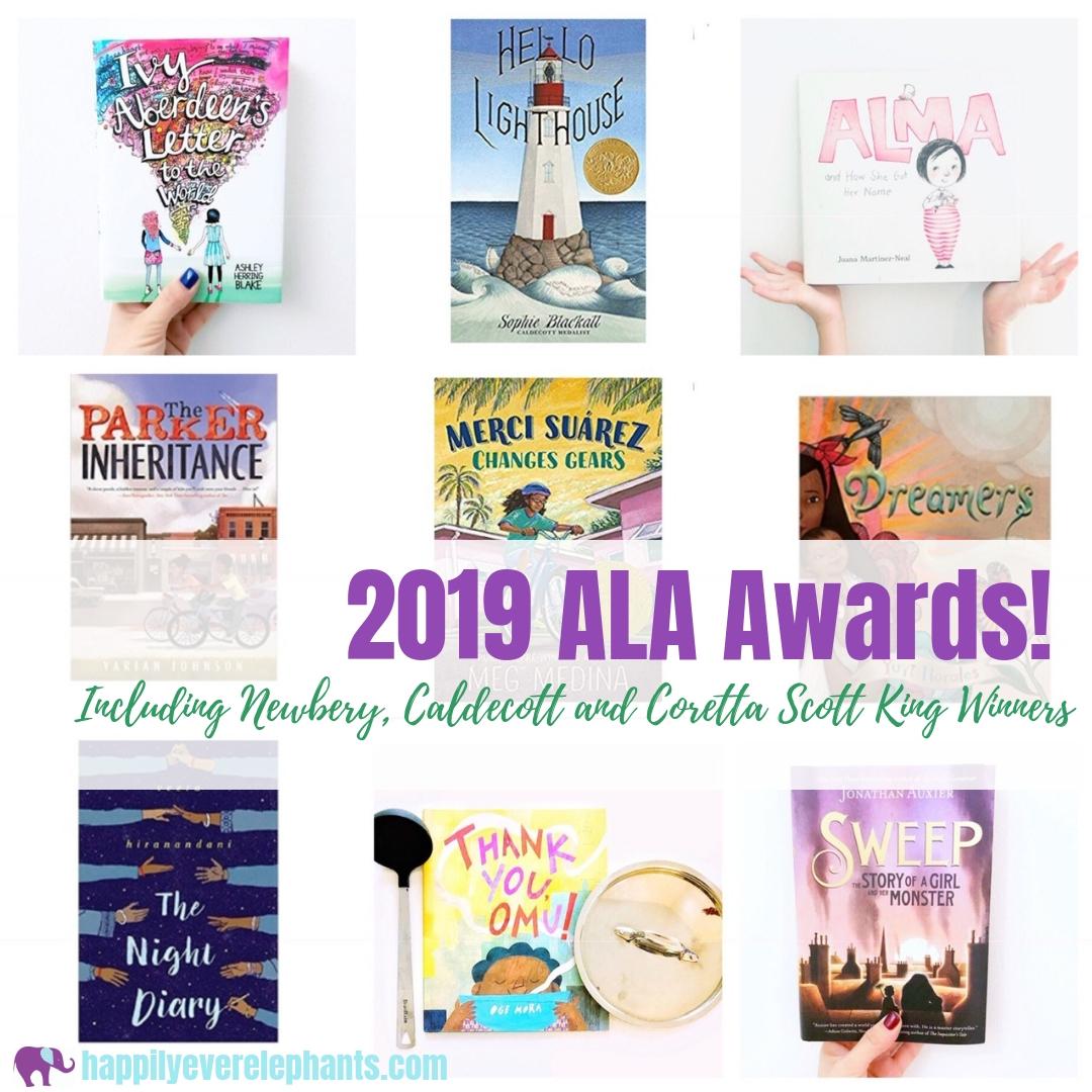 ALA Award winners 2019 including the Newbery, Caldecott and Coretta Scott King Winners.jpg