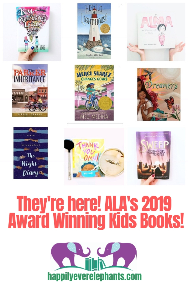 ALA Award Winning Books including Caldecott, Newbery, Coretta Scott King, Geisel and more