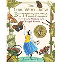 The Girl Who Drew Butterflies SIbert Informational Book Award nonfiction books for kids.jpg