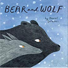 Winter Books for Kids, Bear and Wolf by Daniel Salmieri