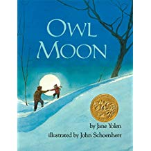 Winter books for kids, Owl Moon by Jane Yolen John Schoenherr