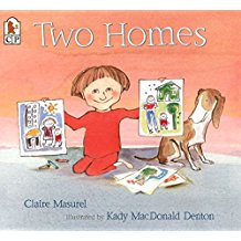 Children's Books About Family Diversity, My Two Homes