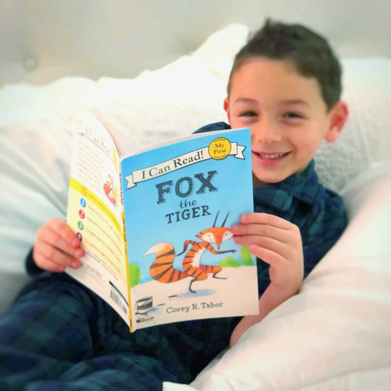 Fox the Tiger, best books for beginning readers