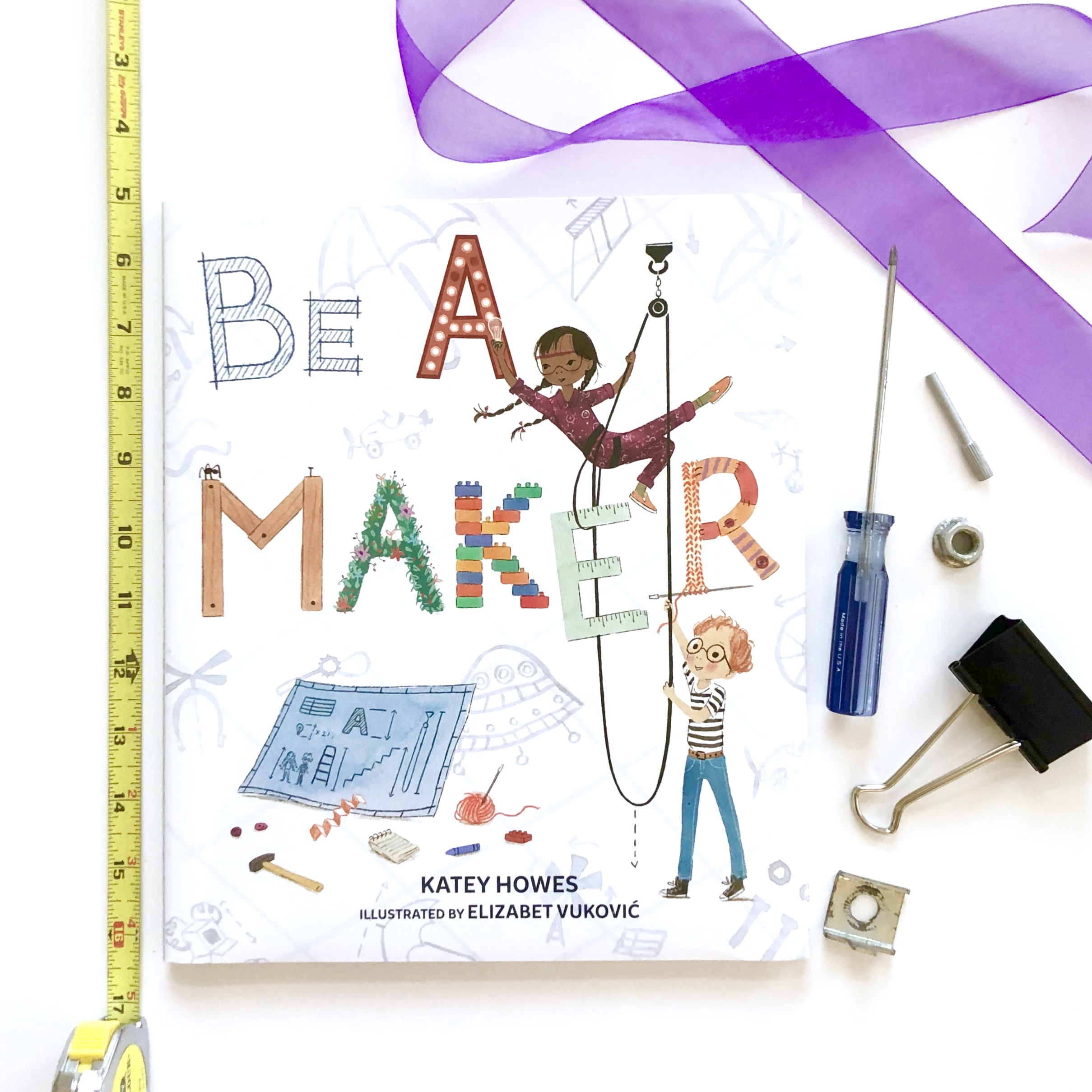 STEM Books Be A Maker by Katey Howes.jpg