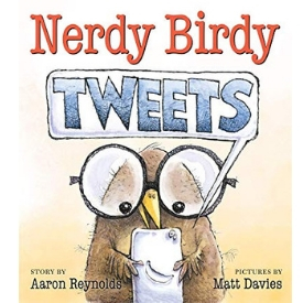 teaching media literacy, good digital citizenship, and Digital Rights and Responsibilities with Nerdy Birdy Tweets
